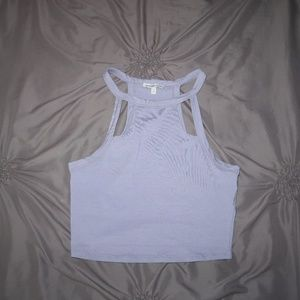 Periwinkle Crop Top
